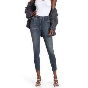 Good American- High Rise Good Legs Crop